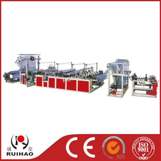 Ribbon-Through Continuous-Rolled Bag Making machine (RLD-900 RLD-1100) pictures & photos