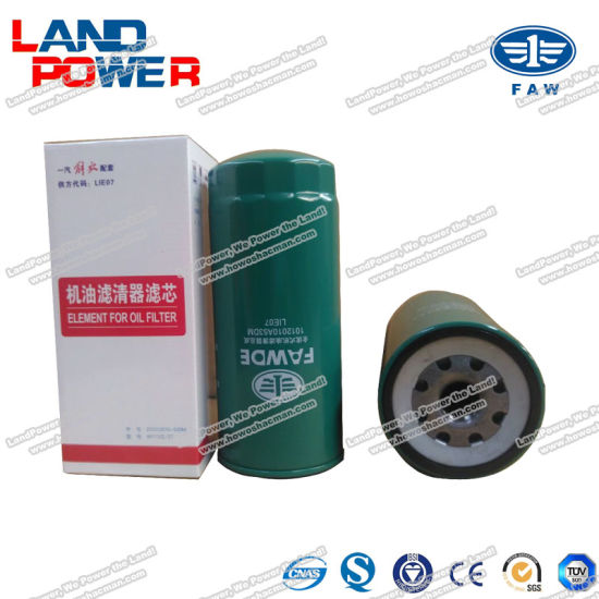 Original Oil Filter for FAW Truck Spare Parts