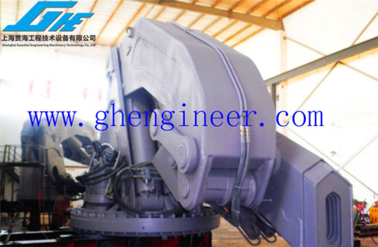 5t@20m Knuckle Boom Marine Crane Articulated Boom Cranes Marine Folding Crane pictures & photos