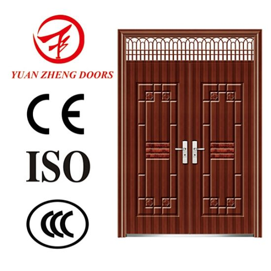 China Italian Steel Double Security Exterior Door Design China