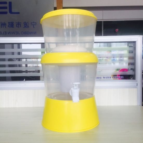 8L Colorful Activated Mineral Filter Pot with Ceramic pictures & photos