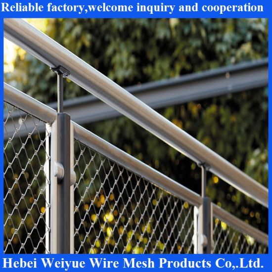 China Wholesale Stainless Steel Suspension Bridge Railing Wire Rope ...