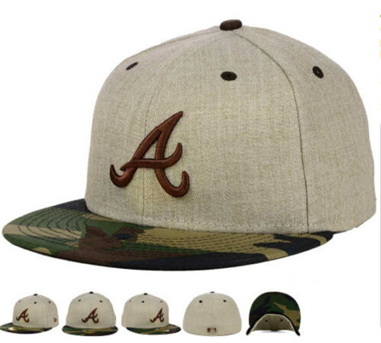 Gray Acrylic Fitted Snapback Cap with 3D Embroidery Logo pictures   photos 421fa63dad4b
