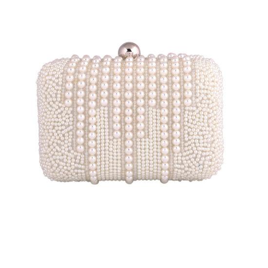 0795764ce6e Wholesale Fashion Women Handbag Designer Pearl Clutch Bag Party Bag  pictures & photos