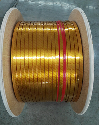 Polyimide Kapton Covered/Enameled/Insulated/Wrapped Aluminium Wire Strip