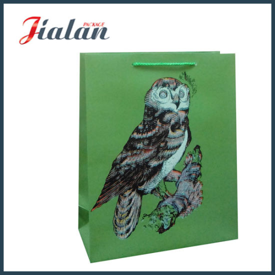 Factory Price Customize Logo Cheap Wholesales Man Paper Shopping Bag pictures & photos
