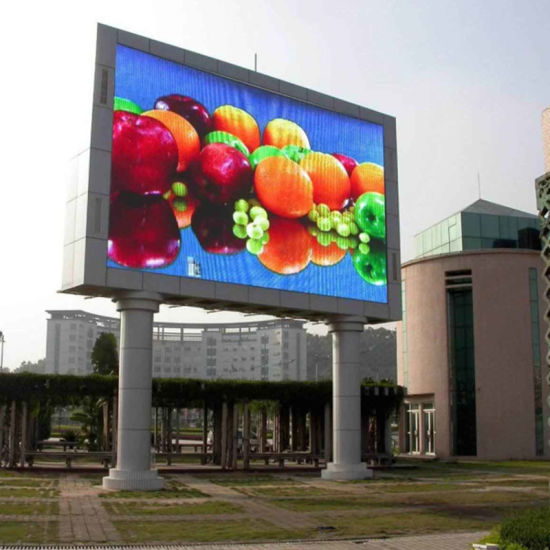 High Resolution P10 Outdoor DIP Full Color LED Display pictures & photos