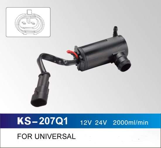 12V 24V 2000ml/Min Windshield Washer Pump for Universal pictures & photos