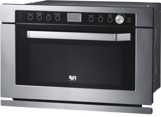 34L Stainless Steel Convection Built in Microwave Oven with Grill pictures & photos