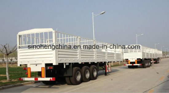 High Quality New Stake Semi Trailer for Sale pictures & photos