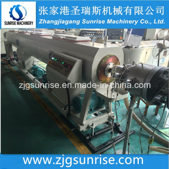 HDPE Water and Gas Pipe Extrusion Line pictures & photos