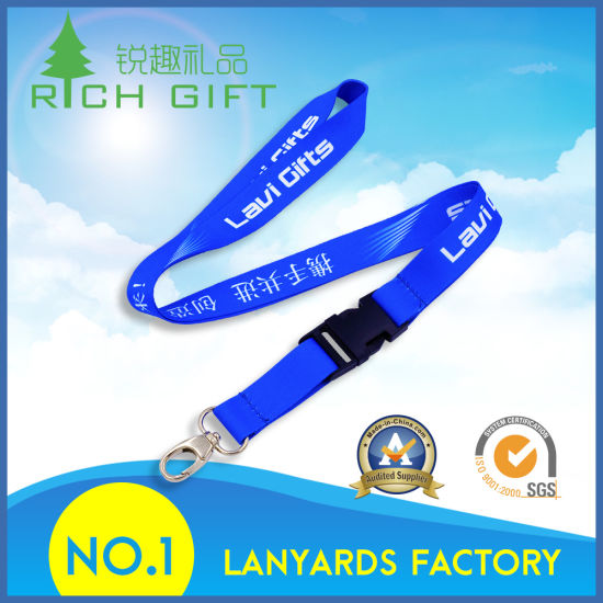 Wholesale Various Cheap Fine Lanyard for Public Institution pictures & photos