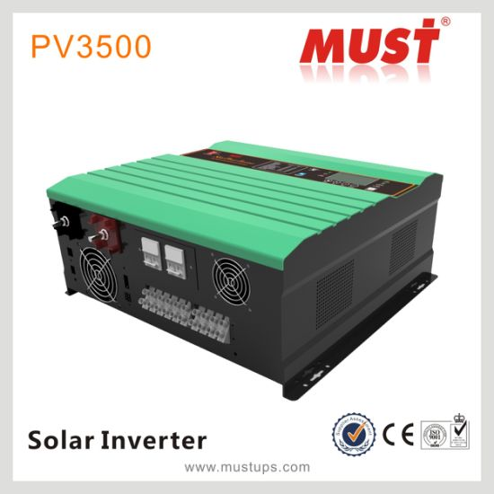 Must Hot Selling PV3500 Series Pure Sine Wave Power Inverter Withmppt Controller pictures & photos