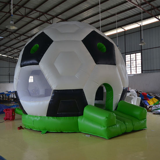 Inflatable Football Bouncy Castle for Children to Play pictures & photos