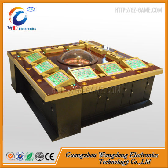 China Gambling Machine Roulette Wheel with Ict Bill Acceptor - China