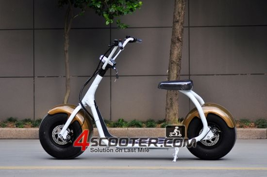 2017 New Big Wheel 800W City Coco Electric Scooter pictures & photos