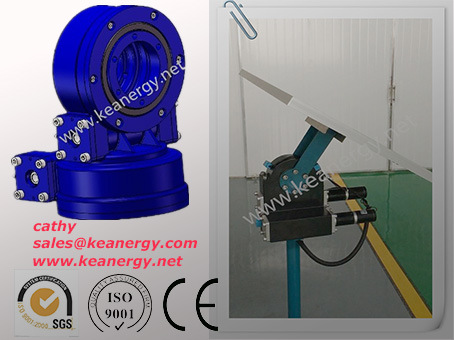 ISO9001/CE/SGS Double Axis Slewing Drive pictures & photos