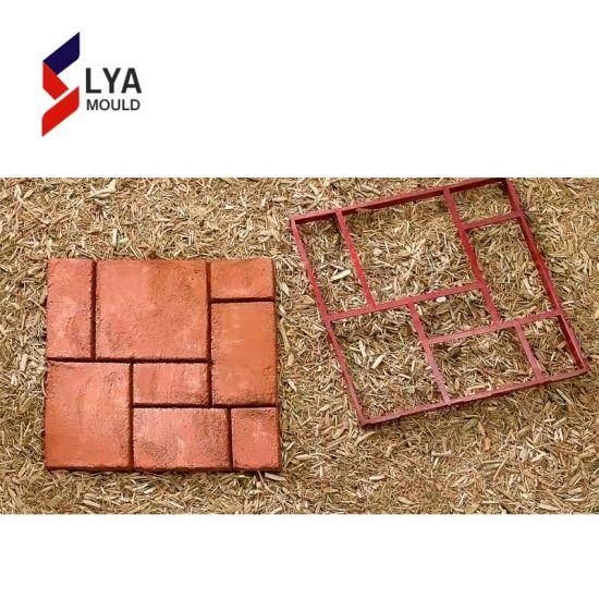 Furniture Diy Garden Concrete Paving Mold For Pavement Walkways For Garden Path Paving Mold Pathmate Shovel 015