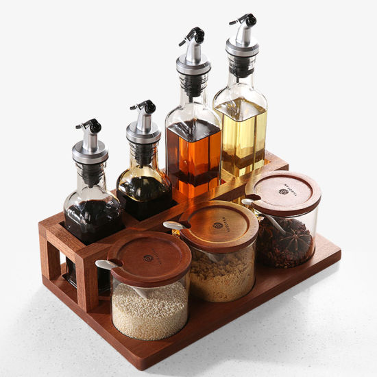 China Kitchenware Jar Set Glass Spice Jar Set Kitchen Tool China Spice Rack And Multi Spice Container Price