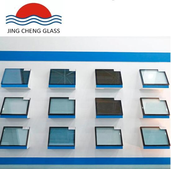 Low-E Tempered Double Glass for Building