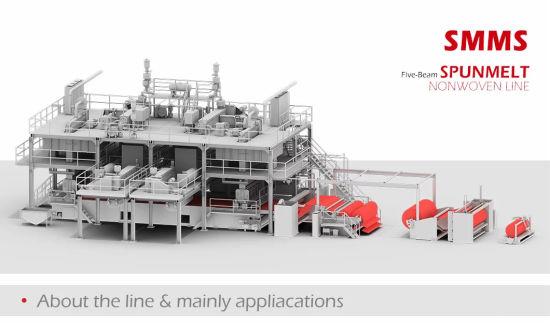 for Air Gas Oil Liquids Filtration Azx-SMMS PP Spunbond Meltblown Composite Nonwoven Fabric Making Machine