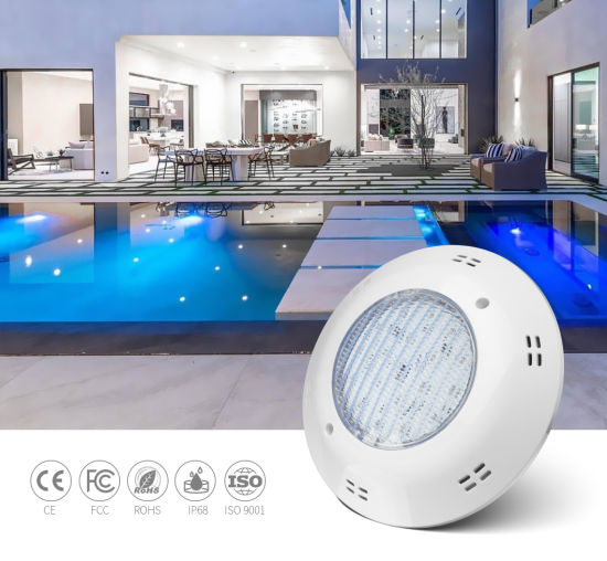 18W RGB Switch Control Surface Mounted LED Swimming Pool Light