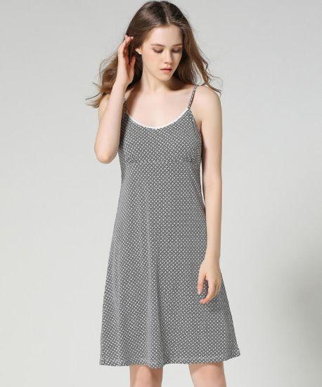 93e57345043 China Wholesale Cotton Sleepwear Women Night Gown - China Nightdress ...