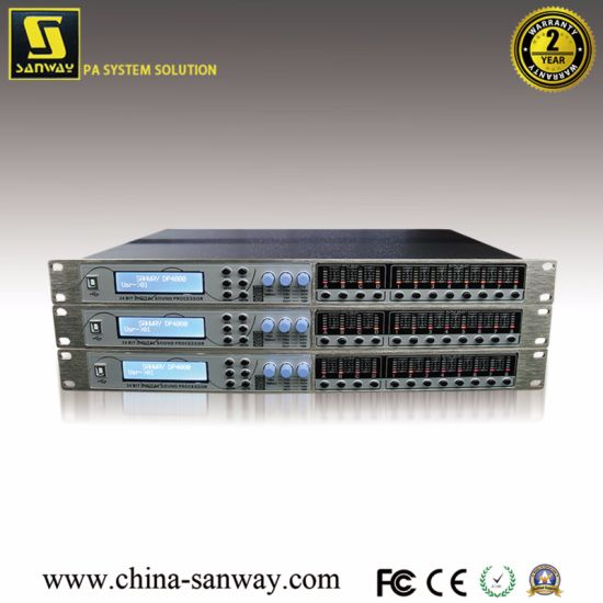 Dp4080 4 in 8out Professional DSP Digital Audio Speaker Processor