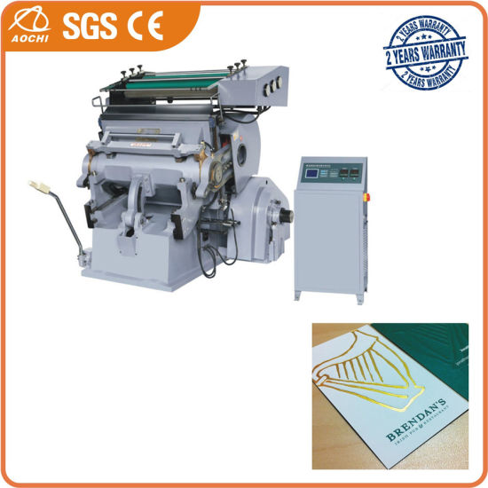 Tymb-1100 Cardboard Hot Foil Stamping High Precision Computerized Die Cutting Machine with CE