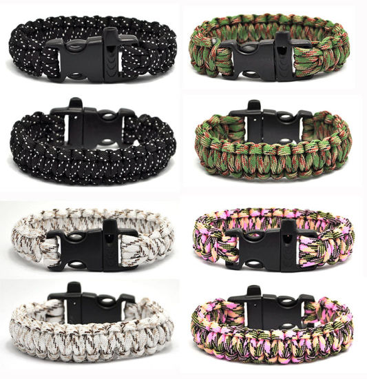 Hot-Selling Whistle Tactical Paracord Bracelet
