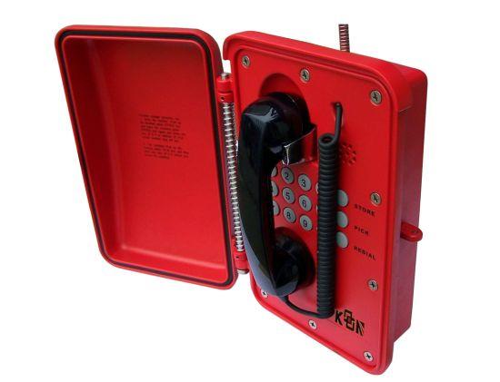 New Industrial Telephone Weatherproof Telephone Waterproof VoIP Telephone Knsp-01