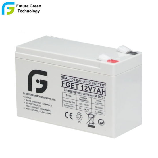 12V 7ah 7.2ah Rechargeable Sealed VRLA Lead Acid AGM UPS Backup AGM Batteries
