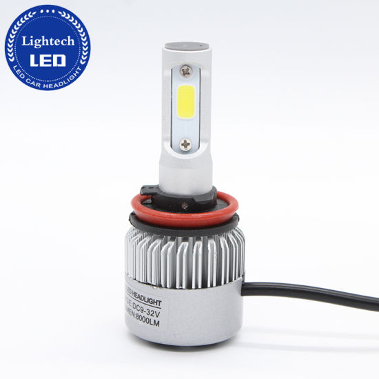 Brightest Headlights H11 Led Headlight Bulb 36w Led Head Light With Cooling Fan