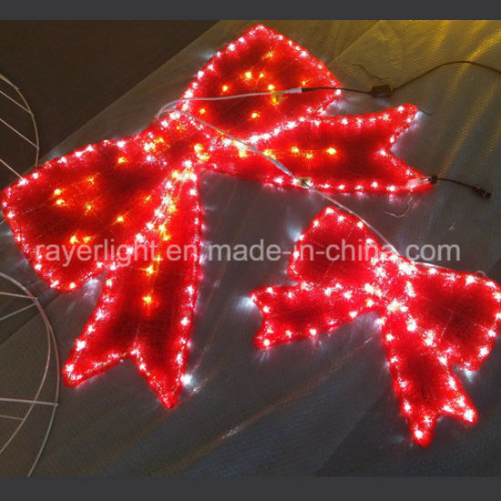 Outdoor Christmas Ribbon.Led Ribbon Outdoor Commercial Christmas Street Lights Decoration