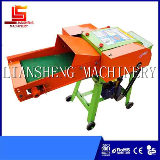 Straw Cutting Grass Chopper for Granulation 40kg//h Without Engine
