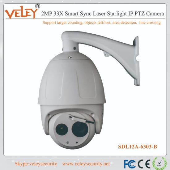 8-Inch 33X Infrared PTZ Dome Dahua Surveillance IP Camera PTZ