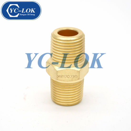 Brass NPT Male Tube Adapter Compression Fittings Pipe Fittings