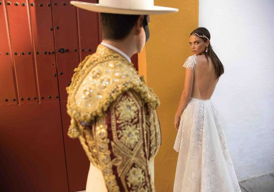 Cap Sleeve Prom Dress Bridal Dress Lace Mermaid Wedding Gown