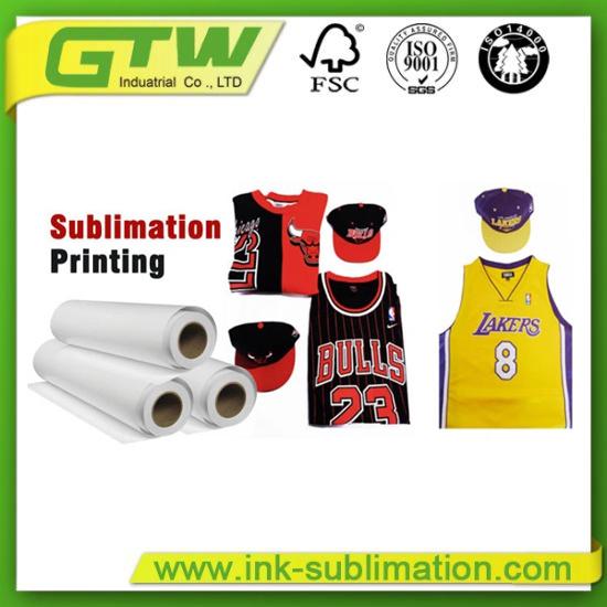 "64""100GSM Tacky/Sticky Sublimation Transfer Paper for Sporswear"