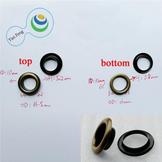 16.5mm New Bag Connector Brass Round Eyelet Garment Accessories