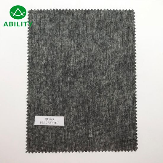Q1384s Breathable Spunlace Soft Tencel Full-Crossing Non Woven Fabric for Garments
