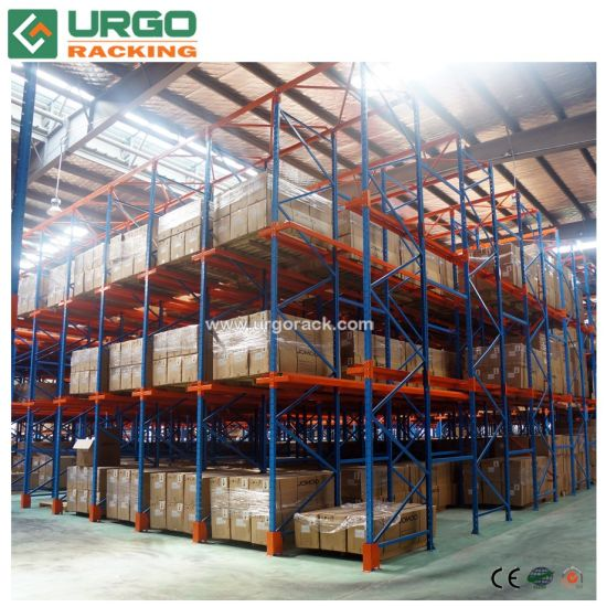 Storage Steel Drive in Racking System Warehouse Pallet Racking