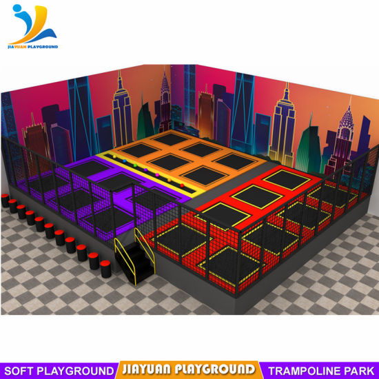 Professional Build Indoor Trampoline Park for Children
