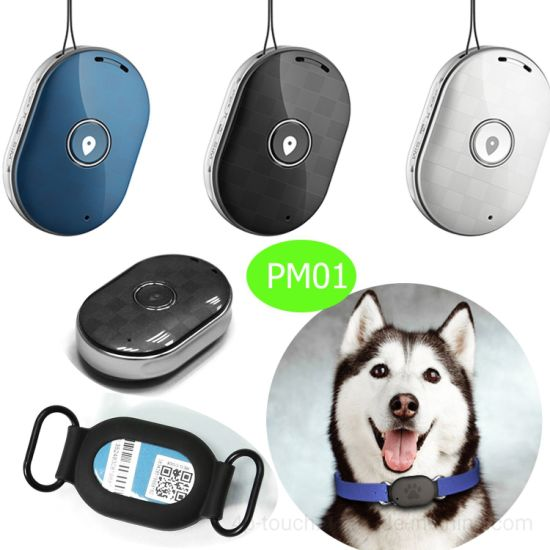 IP66 Waterproof Top Quality GPS Pets Tracker with Anti-Lost Pm01