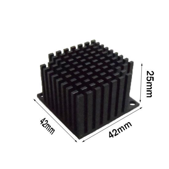 CPU Heat Sink LED Aluminum Profile Heatsinks Extruded