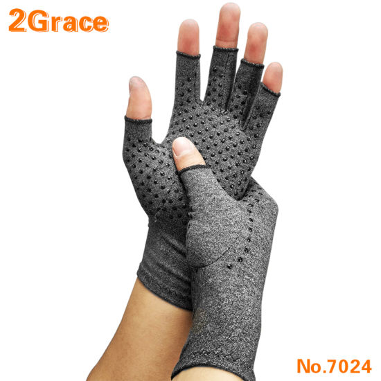 Medical Care Anti-Slip Grip Compression Arthritis Glove for Pain Relief