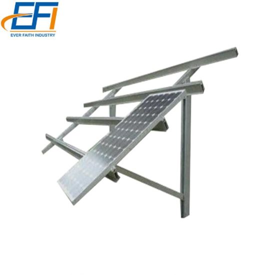 90 Degree Angle Adjustable Tilt Ground Solar Mounting Bracket