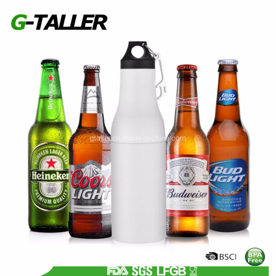 Beer Cooler Stainless Steel Insulator Beer Bottle