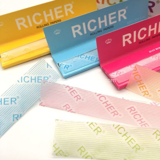 Richer FDA Approved Colorful Printing Smoking Rolling Papers