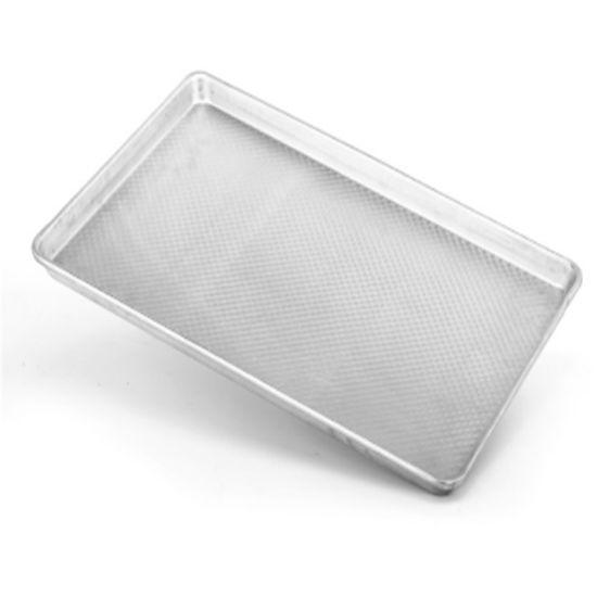 Square Non-Stick Round Corner Corrugated Aluminum Baking Sheet Pan